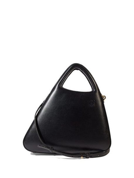 Loewe - Architects A Leather Top-handle Bag - Womens - Black