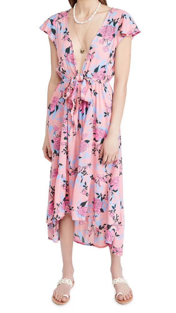 TIARE HAWAII Blake Maxi Dress in pink