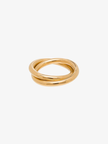 Loren Stewart gold-plated two-link ring