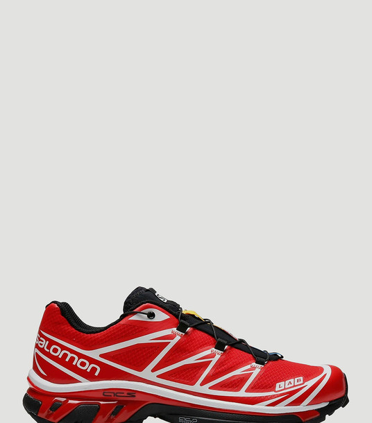 Salomon Sneakers Women - S/Lab XT-6 Softground ADV Sneakers Red 100% Textile. 100% Rubber. UK - 10.5
