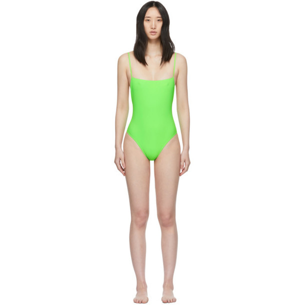 Lido Green Otto One-Piece Swimsuit