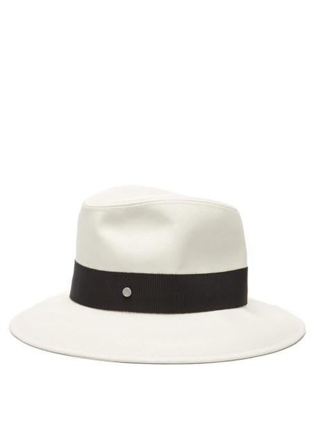 Maison Michel - Enrico Straw Panama Hat - Womens - Ivory