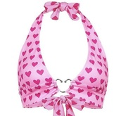 top,pink,pink top,heart,valentines day,bow,cute