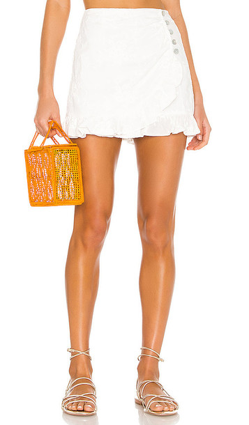 Lovers + Friends Lovers + Friends Harley Skort in White