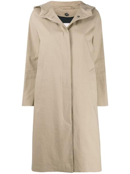 Mackintosh CHRYSTON Fawn RAINTEC Cotton Hooded Coat - LM-1019FD in neutrals