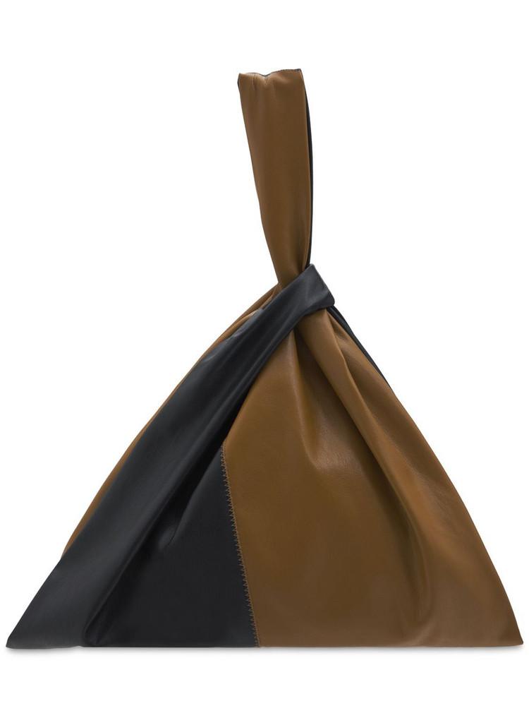 NANUSHKA Jen Large Faux Leather Top Handle Bag