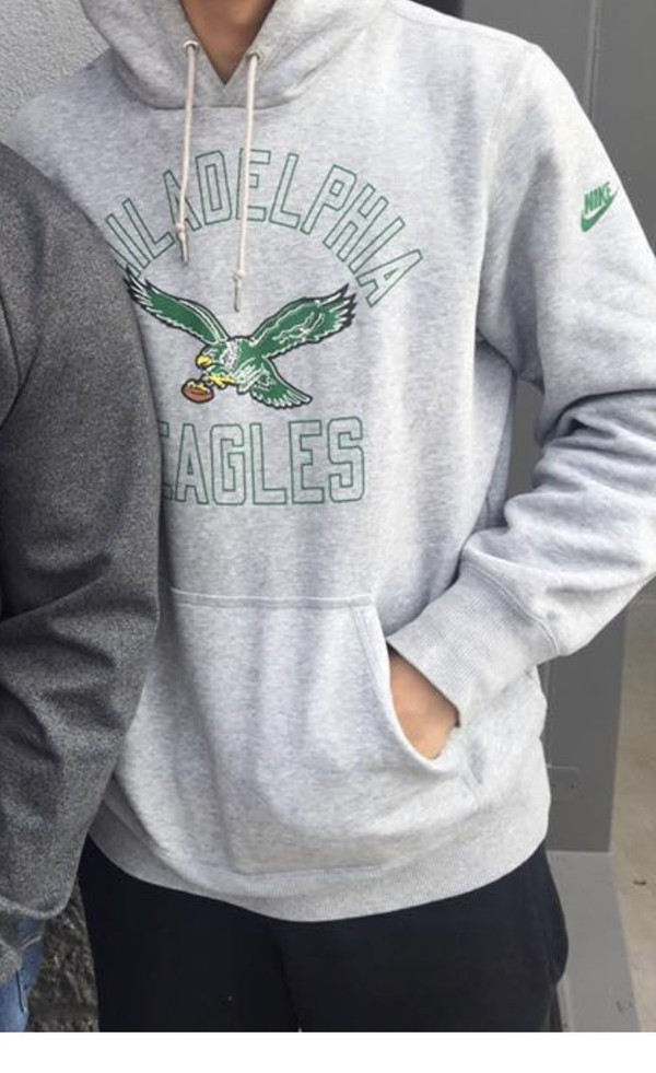 sweater hoodie nike philadelphia eagles