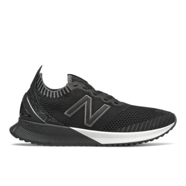 New Balance FuelCell Echo Women's Neutral Cushioned Shoes - Black/Grey/White (WFCECSK)
