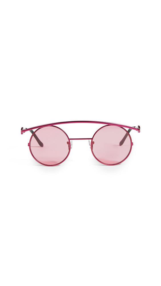 Karen Wazen Retro's XL Sunglasses in pink