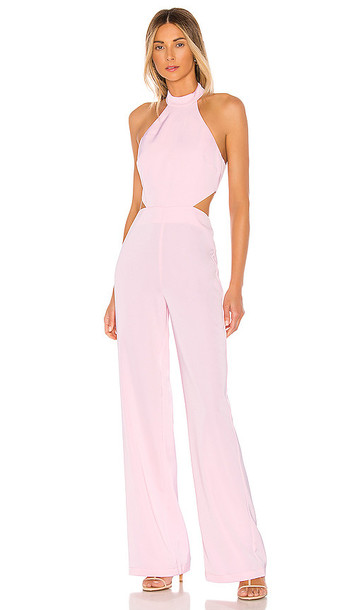 NBD x Naven Olivia Jumpsuit in Pink