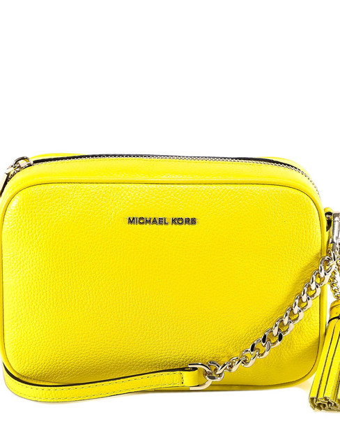 Michael Kors Md Camera Bag Shoulder Bag in yellow