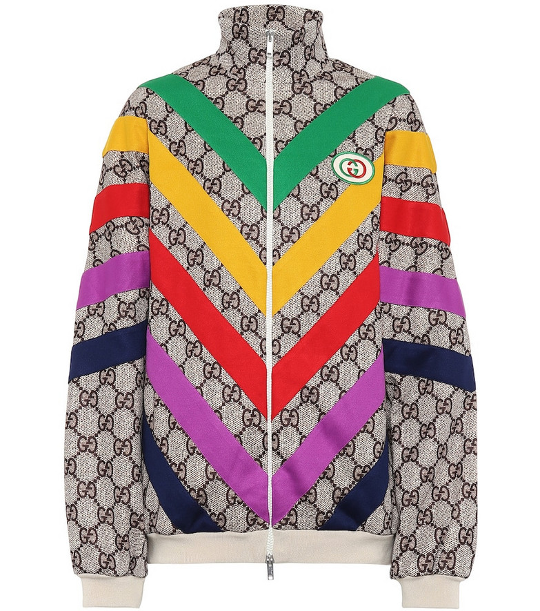Gucci GG Supreme cotton-blend jacket