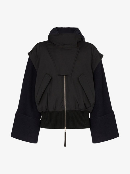 Moncler 1952 elorn puffer jacket in black