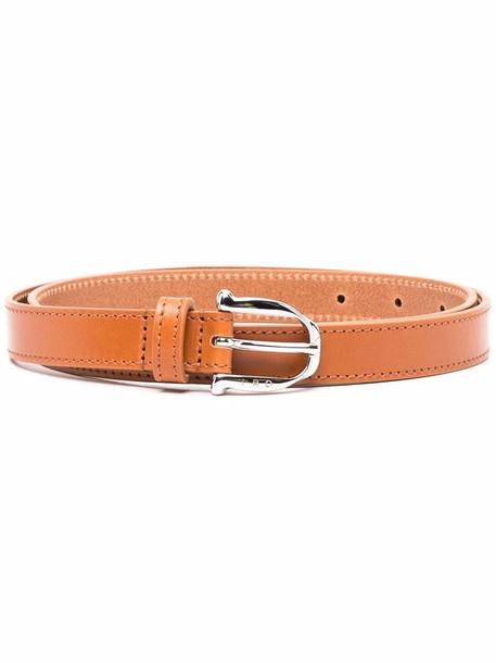IRO adjustable leather belt - Brown