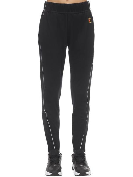 NIKE Nikecourt Tennis Pants in black