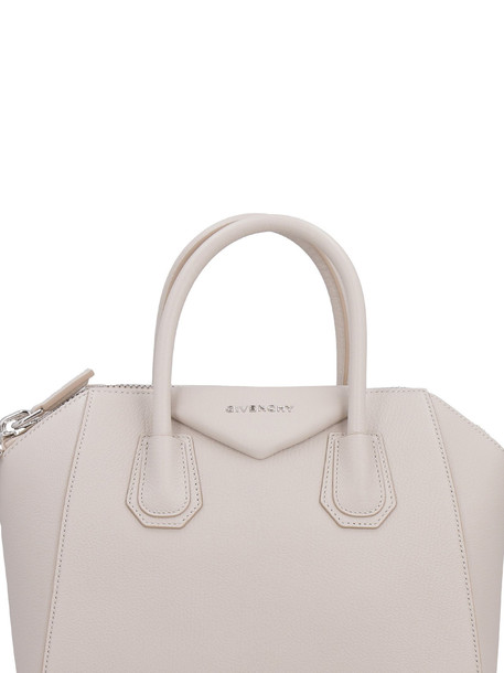Givenchy Antigona Leather Handbag in beige
