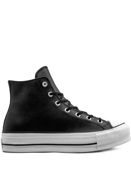 Converse CTAS LIFT CLEAN HI sneakers in black - Wheretoget