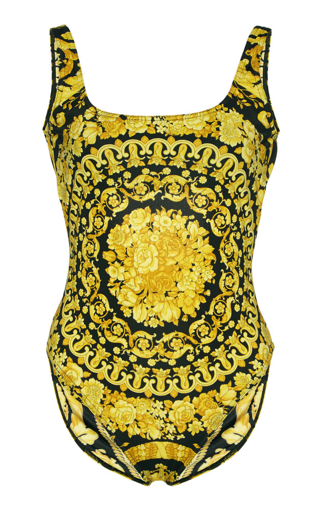 Versace Printed Swimsuit Size: 1 in print