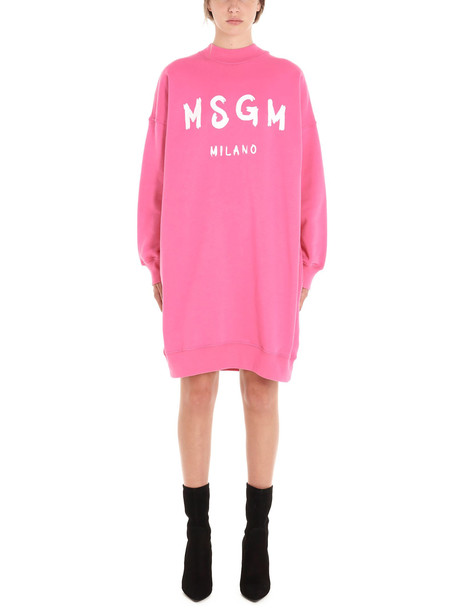 Msgm Dress in fuchsia
