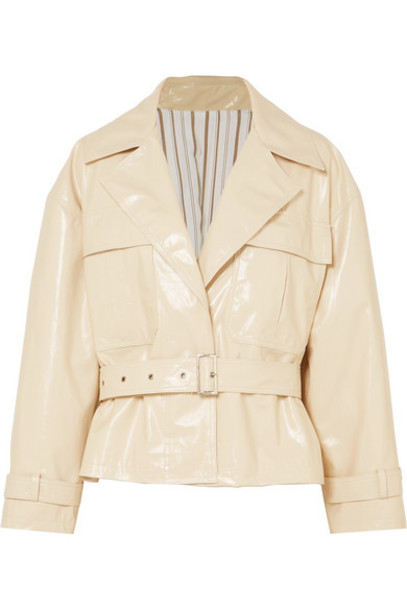 Frankie Shop - Pvc Jacket - Cream