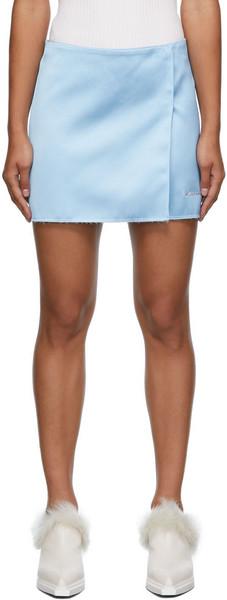 1017 ALYX 9SM Formal Tailoring Miniskirt in blue