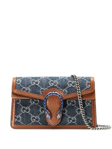 Gucci Dionysus super mini bag in blue