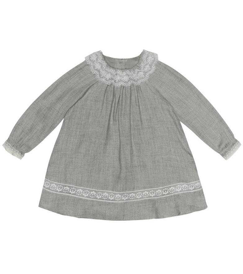 Tartine et Chocolat Baby wool-blend dress in grey