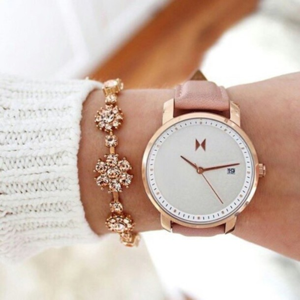 nail accessories cream watch flowered bracelets jewels jewelry white gold gold jewelry all white everything