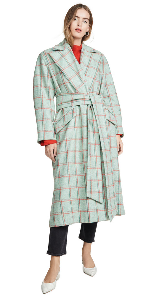 Maggie Marilyn Here to Stay Coat in mint