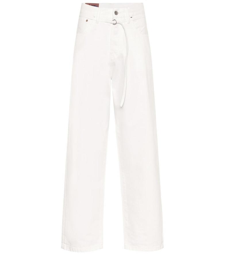 Acne Studios Blå Konst 1991 Toj wide-leg straight jeans in white