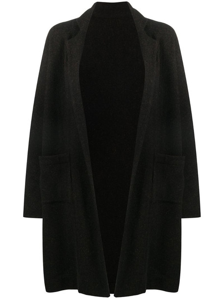 Daniela Gregis oversized single-breasted coat in brown