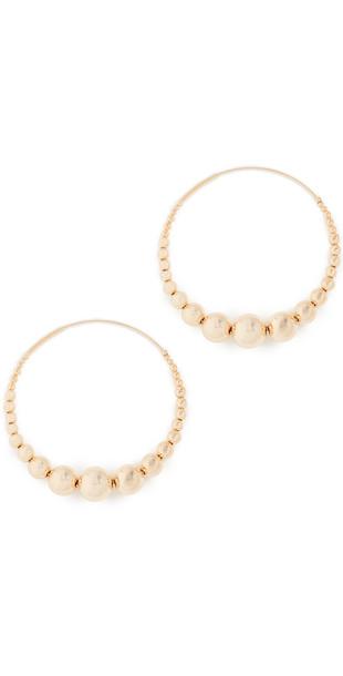GAS Bijoux Multiperla Earrings in gold