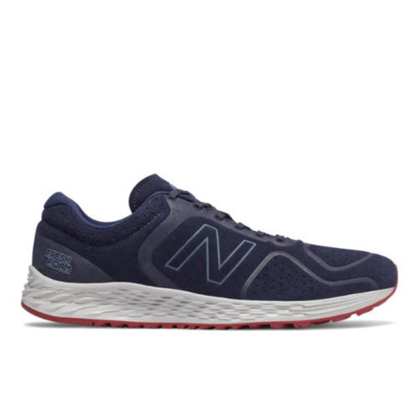 New Balance Fresh Foam Arishi v2 Men's Neutral Cushioned Shoes - Navy/Red (MARISSN2)