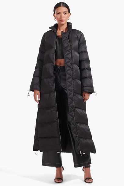 Staud BARRY COAT   BLACK