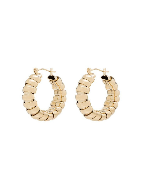 Laura Lombardi 14kt gold-plated Camilla hoop earrings