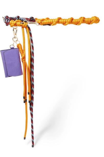 Dries Van Noten - Rope Belt - Orange