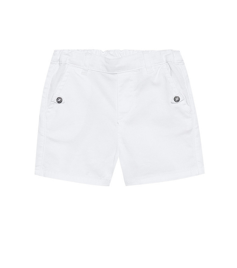 Tartine et Chocolat Baby stretch-cotton shorts in white