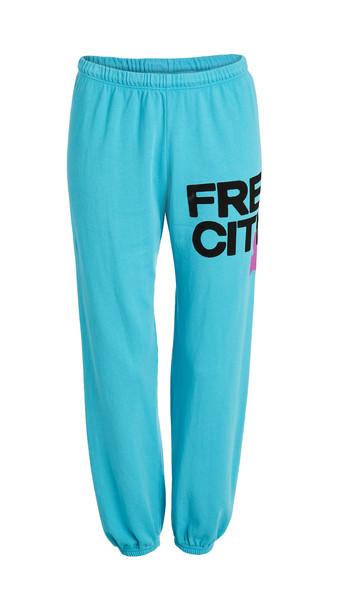 FREECITY Freecity Large Sweatpants in blue