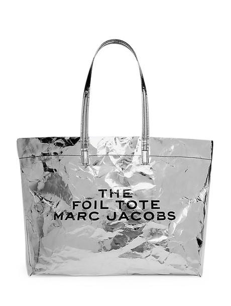 Marc Jacobs Silver Foil Tote