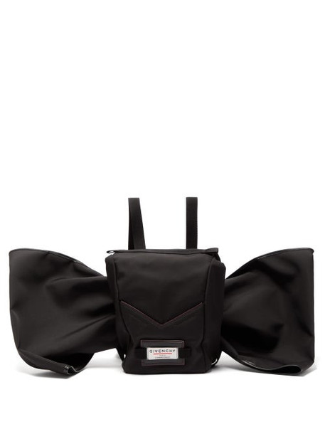 Givenchy - Downtown Bow Embellished Backpack - Womens - Black