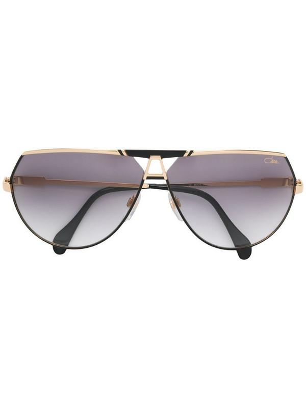 Cazal tinted aviator sunglasses in metallic