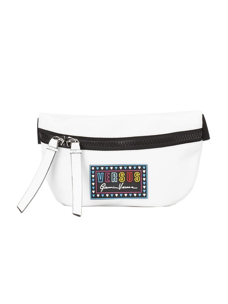 Versus Versace Versus Logo Patch Belt Bag in white