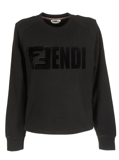 Fendi Logo Embossed Sweatshirt