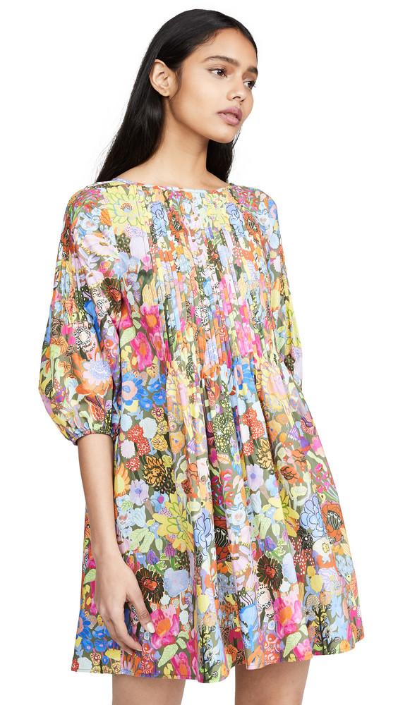 Whit Pintuck Dress in multi
