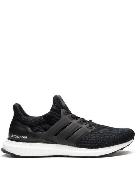 adidas UltraBoost low-top sneakers in black
