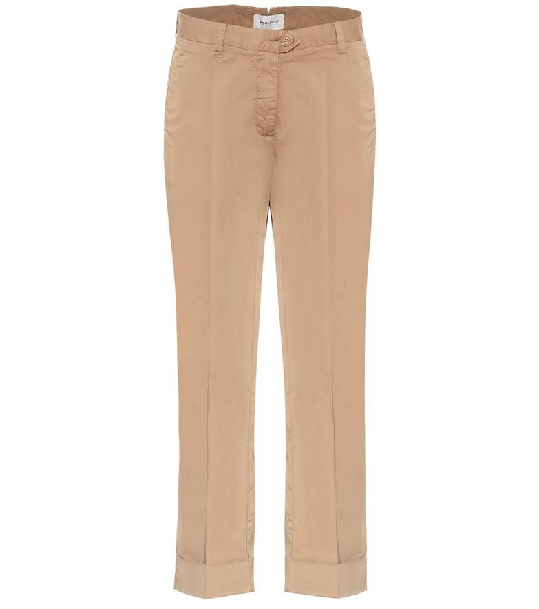 Woolrich W'S stretch-cotton pants in beige