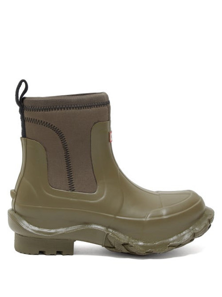 Stella Mccartney - X Hunter Rubber Rain Boots - Womens - Khaki