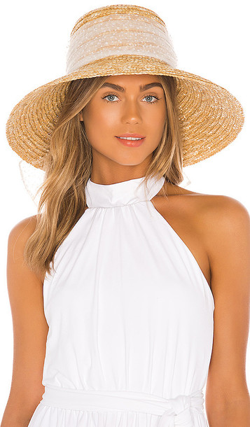 Eugenia Kim Annabelle Sun Hat in Tan