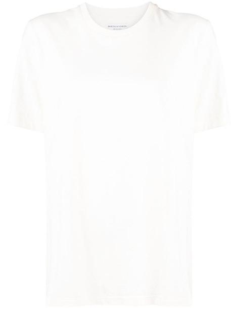 Bottega Veneta short sleeve T-shirt in neutrals