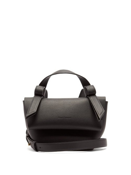 Acne Studios - Musubi Milli Leather Cross Body Bag - Womens - Black